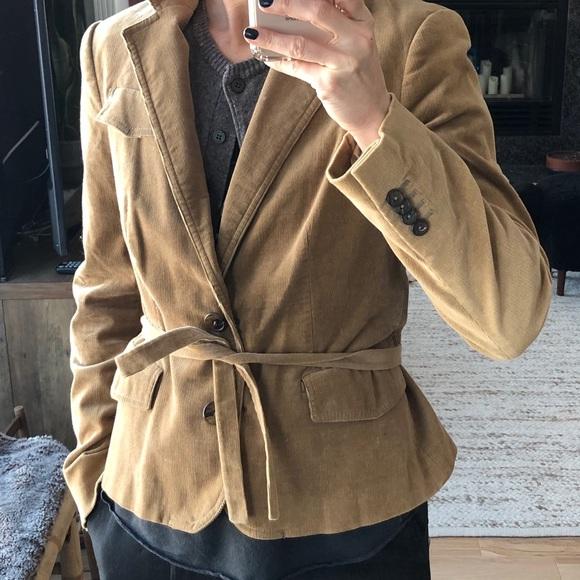 Zara Jackets & Blazers - Tan corduroy blazer
